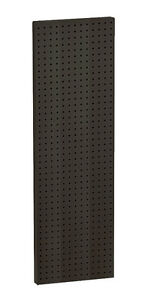 Plastic Pegboard Panel In Black 13 5w X 44h Inches Case Of 2