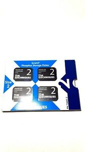 New Scan X Phosphor Storage Plate Intra Oral Psp Size 2 Adult 4 pack