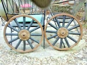1 Wood Spoke 21 Inch Diameter Ford Model T Front Wheels 2 To Choose From