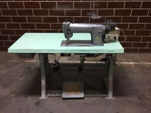 Singer 281 143 Industrial Sewing Machine With Singer Needle Positioner vintage