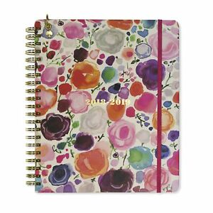 Kate Spade Mega Academic Daily Planner 2018 2019 With Daily Weekly Monthly Vi