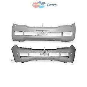 Fits Toyota Land Cruiser2008 2011 Front Bumper Painted To Match To1000341