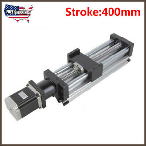 Electric Ball Screw Linear Actuator Cnc Slide Stroke Long Stage Stepper Motor