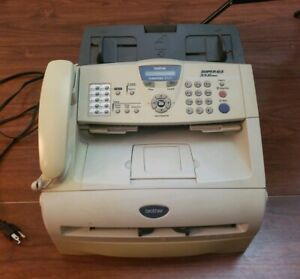 Brother Intellifax 2920 Super G3 33 6 Kbps Laser Fax Machine copier