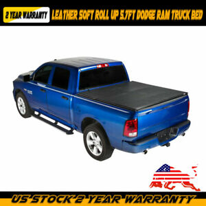 2019 Roll Up Tonneau Cover Fit 2009 2018 Dodge Ram 1500 2500 5 7ft Truck Bed