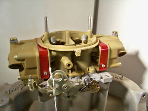 Holley 750 Cfm Double Pumper 4779 Plated And Rebuilt
