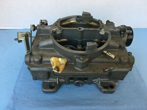 Carter Afb Id7 4453s 1743 4 Barrel Carburator Gm Ford Used