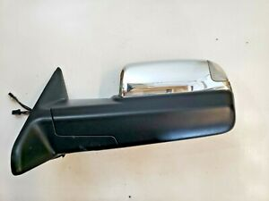 Dodge Ram 1500 2500 3500 Tow Mirror Chrome Driver S Left Side View Oem