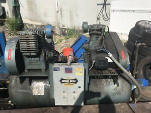 Air Compressor Saylor Beall Industrial Twin Accumulator