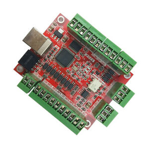 Mach3 Cnc Usb 4 Axis Motion Control Card Breakout Board Stepper Motor Driver