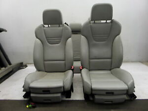 04 05 Audi B6 S4 A4 Sedan Recaro Ivory Leather Seats Rf Base Is Stiff Hard Oem