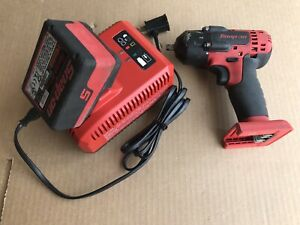 Snap on Tools 18v Monster Lithium 3 8 dr Impact Wrench Ct8810a W battery