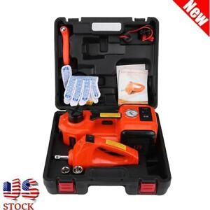 5 Ton Dc 12v Automotive Car Electric Floor Jack Lift Garage And Emergency Tools