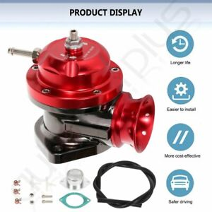 Universal Anodized Type Rs Flange Turbo Blow Off Valve Bov 2 5 Flange Pipe Red