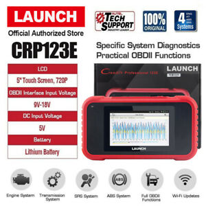 Obd2 Engine Transmission Abs Srs Airbag Auto Diagnostic Scanner Launch Crp123e