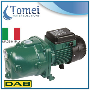 1hp Jet Pump Electric Water Deep Well Shallow Pressure Booster Dab 102 Cast Iron