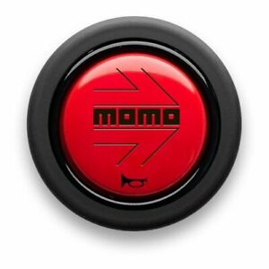 Momo Horn Button Red Hb04