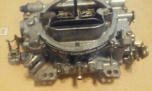 Carter Afb 9605 Competition Series Used Carburetor 2807