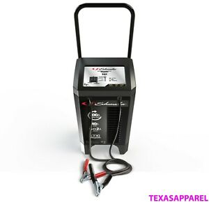 Electric Battery Charger Wheel 200 Amp Automotive Dead Portable Jump Start Car