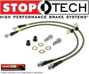 Stoptech Stainless Steel Front Brake Line Fit Tacoma 4runner Fj Cruiser Tundra