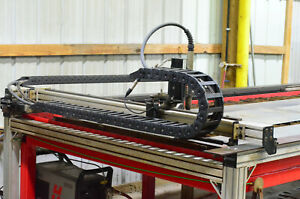 Torchmate 2 Cnc 5x10 Plasma Cutter W Water Table Hypertherm Computer W cad