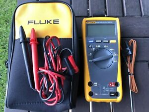Fluke 179 True Rms Digital Multimeter Excellent Used Once Free Shipping