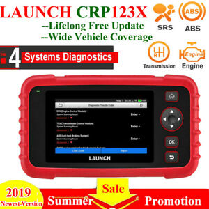 Launch Creader Crp123x Obd2 Car Code Reader Abs Srs Diagnostic Engine Scanner Us