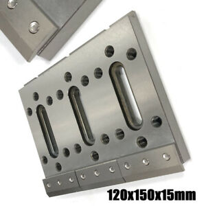 Wire Edm Fixture Board Stainless Steel Jig Tool For Clamping Level 120x150x15