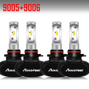 9006 9005 Hi Low Beam Led Headlight Kit For Honda Accord 90 2012 Civic 2004 2015