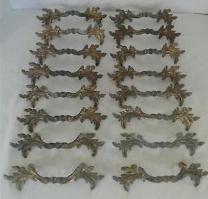 Vintage Keeler K854 French Provincial Shabby Country Drawer Pulls 3 Bore 6