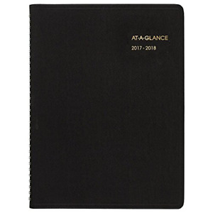 At a glance Academic Appointment Weekly Book Planner July 2017 August 2018