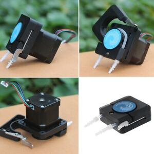 Peristaltic Mini Pump Head With Tube Small Flow Stepper Motor Oem Package