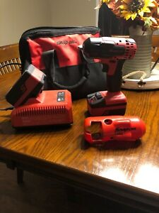 Snap On Tools Ct8810a 3 8 Red Cordless Monster Lithium Impact Lightly Used
