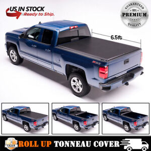 Soft Roll Up Tonneau Cover For 99 2006 Chevy Silverado Gmc Sierra 6 5ft 78 Bed