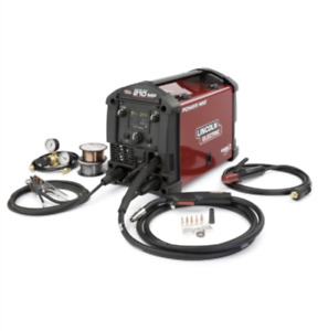 Lincoln Power Mig 210 Mp Multi process Welder K3963 1 Brand New
