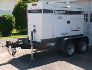 Mq Power Multiquip 70 Kva Whisperwatt Trailer mounted Diesel Generator Set