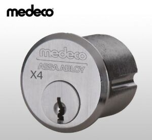 Medeco Mortise Cylinder X4 6 Pin 1 1 8