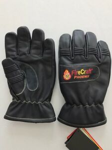 Fire Fighting Gloves Nfpa 1971 2013 Certified Size Small Medium Large Xl