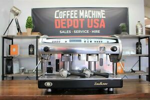 San Marino Lisa R 2 Group High Cup Commercial Espresso Coffee Machine