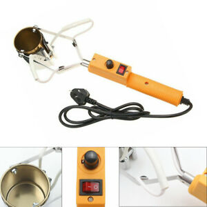 160-380W Electric Portable Lead Melting Pot Solder Furnace Casting Head Tin 450℃