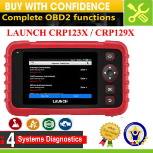 Launch Crp129x Crp123x Obd2 Car Diagnostic Scanner Obdii Code Reader Abs Srs Us