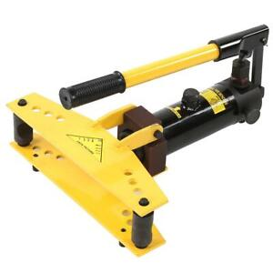 6 Ton Hydraulic Pipe Metal Bender Bending Tubing Tools With 4 Dies 3 8 1