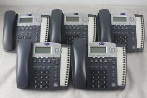 Lot Of 5 At t 974 4 line Small Business System Office Phones