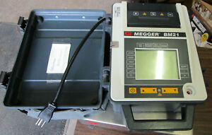 Avo Megger Bm21 5kv Insulation Resistance Tester With Leads Parts Or Repair