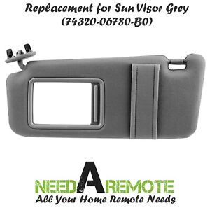 Sun Visor For 2007 2008 20009 2010 2011 Toyota Camry Driver Side Left Car Window