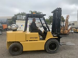 Hyster 80 E Duel Fuel All Terrain Forklift