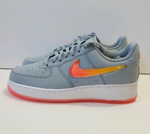Nike Air Force 1 07 Premium 2 Obsidian Mist hot Punch Shoes Sz 6 5 at4143 400