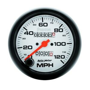 Autometer 5892 Phantom Mechanical Speedometer 120 Mph 3 3 8 Inch
