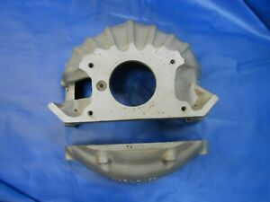 Vintage R C Industries Aluminum Chevy Blow Scatter Shield Bell Housing Nhra
