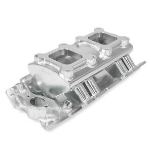 Holley Sniper 835061 Sheet Metal Intake Manifold Bbc